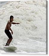 Surfer 0803b-2 Canvas Print