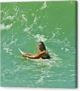 Surfer Hatteras Island 2 7/13 Canvas Print