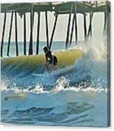 Surfer Sunrise 31 10/2 Canvas Print
