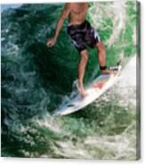 Surfin` Canvas Print