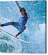 Surfing 2 Canvas Print