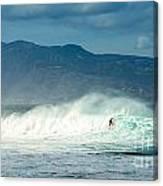Surfing Light Canvas Print