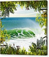 Surfing Paradise Canvas Print