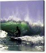 Surfing Pt. Judith Canvas Print