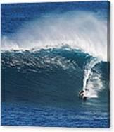 Surfing Waimea Bay Canvas Print