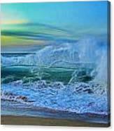Surf's On Canvas Print