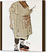 Surgeon: Caricature, 1906 Canvas Print