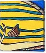 Surgeonfish Canvas Print