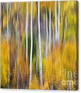 Surreal Aspen Tree Magic Abstract Art Canvas Print
