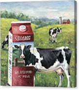 Surreal Cow Canvas Print