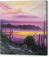 Surreal Desert II Canvas Print