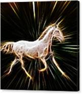 Surreal Horse Canvas Print