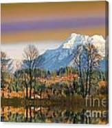 Surreal Landscape-hdr Canvas Print