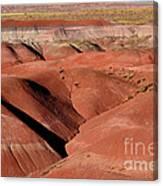 Surreal Red Landscape Canvas Print