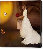 Surreal Wedding Canvas Print