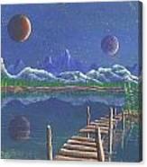 Surrealake Canvas Print