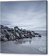 Surrender To The Sea Canvas Print