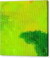 Surrepititous Green Canvas Print