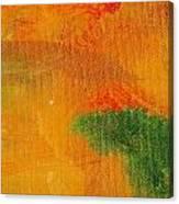 Surrepititous Orange Canvas Print