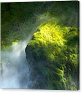 Surrounded By Mist Canvas Print