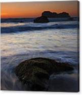 Surrounded By The Tide Canvas Print