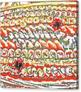 Sushi In Abstract Canvas Print