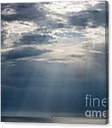 Suspended Between Heaven And Earth Canvas Print