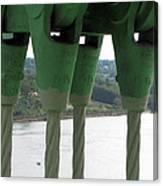 Suspension Cables Canvas Print
