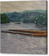 Susquehanna River At Saginaw Pa Canvas Print