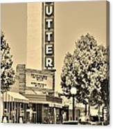 Sutter Theater Canvas Print