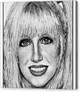 Suzanne Somers In 1977 Canvas Print
