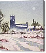 Suzan's Church Painting  Canvas Print