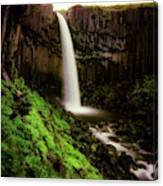 Svartifoss Waterfall, Skaftafell Canvas Print