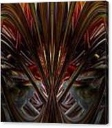 Swallowed By The Dark Fx  Canvas Print