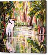 Swamp Angel Canvas Print
