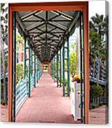 Swan And Dolphin Resort Walt Disney World 3 Panel Composite Canvas Print