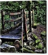 Swan Creek Footbridge Canvas Print