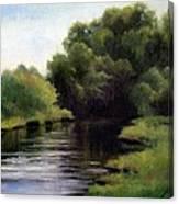 Swan Creek Canvas Print