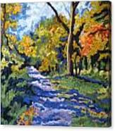 Swan Creek Pathway Canvas Print