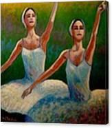 Swan Lake II Canvas Print
