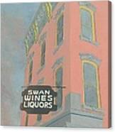 Swan Liquors Canvas Print