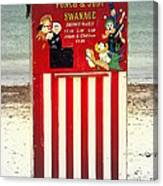 Swanage Punch And Judy Canvas Print