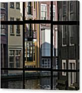 Swans Love Amsterdam Canvas Print