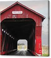 Swartz Covered Bridge Ohio Canvas Print