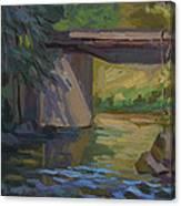 Swauk Creek Early Spring Canvas Print