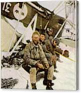 Swedish Aviator Lundborg, Who Canvas Print