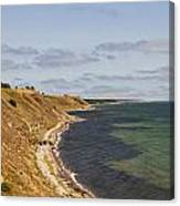 Swedish Coastline Canvas Print