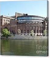 Swedish Parliament 02 Canvas Print