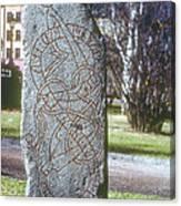 Swedish Runestone Canvas Print