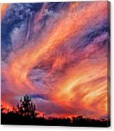 Sweeping Sunset Canvas Print